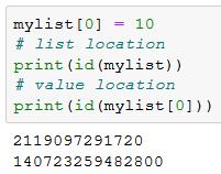Mutable in Python