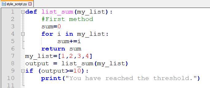 Python autoformatter