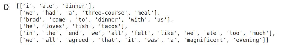 Sentence Embedding