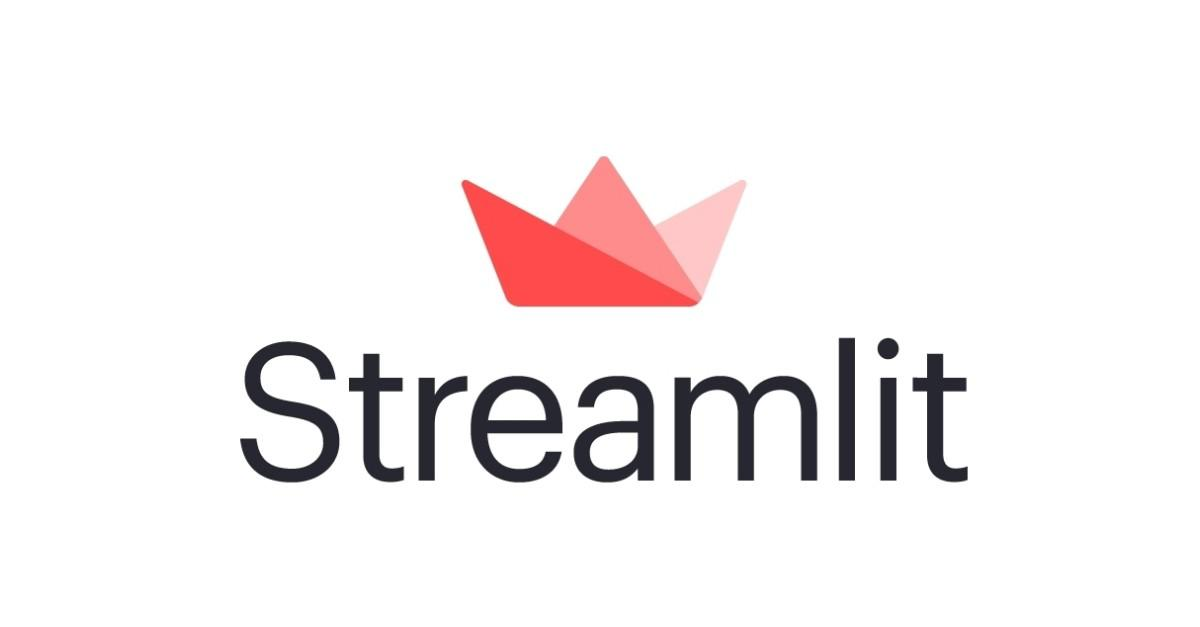 Streamlit - logo