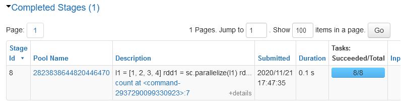 spark optimization - count