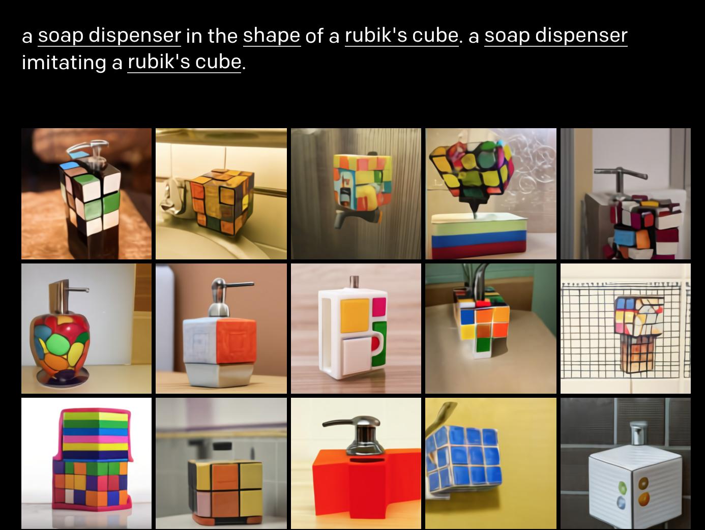 soap disoenserin cube